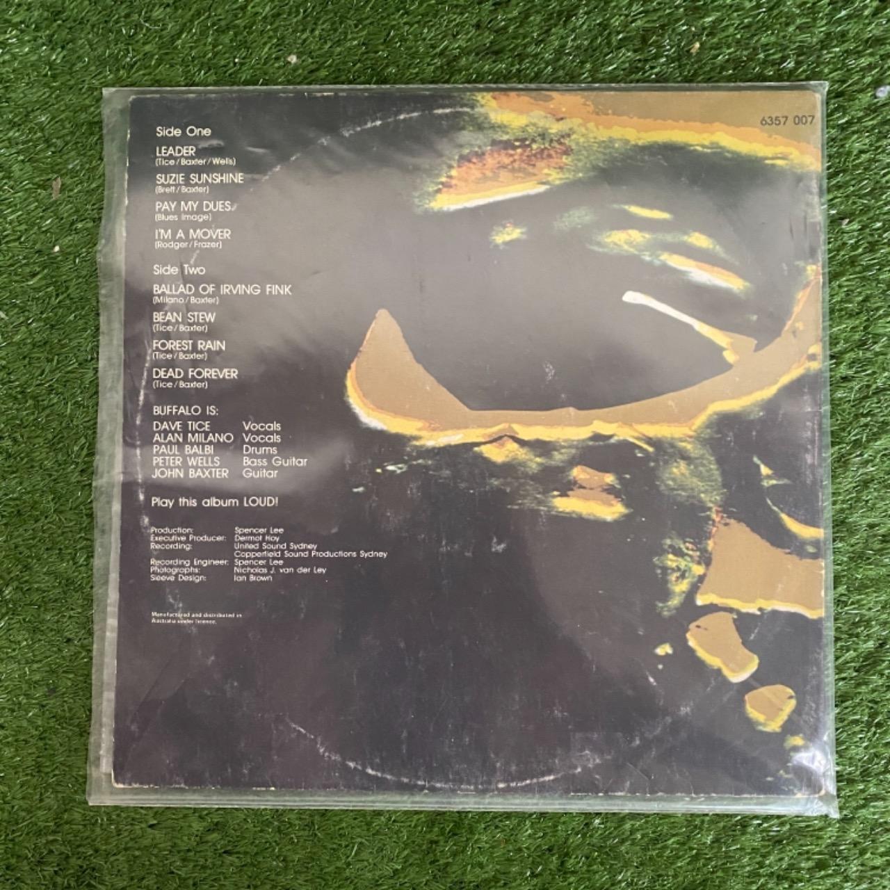 """Buffalo - """"Dead Forever..."""" Vinyl"""