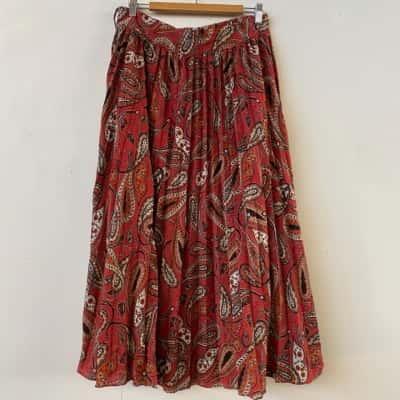 Seed Heritage Womens Maxi Multicoloured skirt