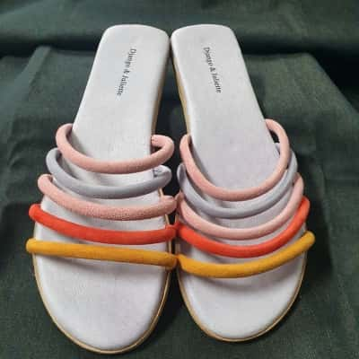 Django & Juliette Womens  Size 11/42 Purple sandals