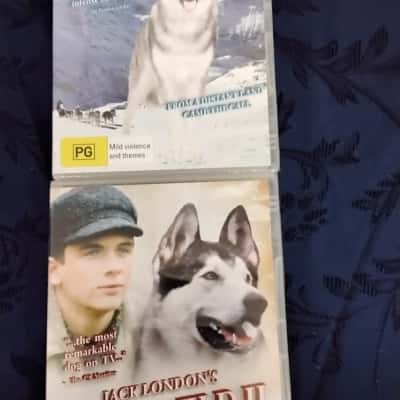 2 DVDs BNWT Call of the Wild 1 and 2
