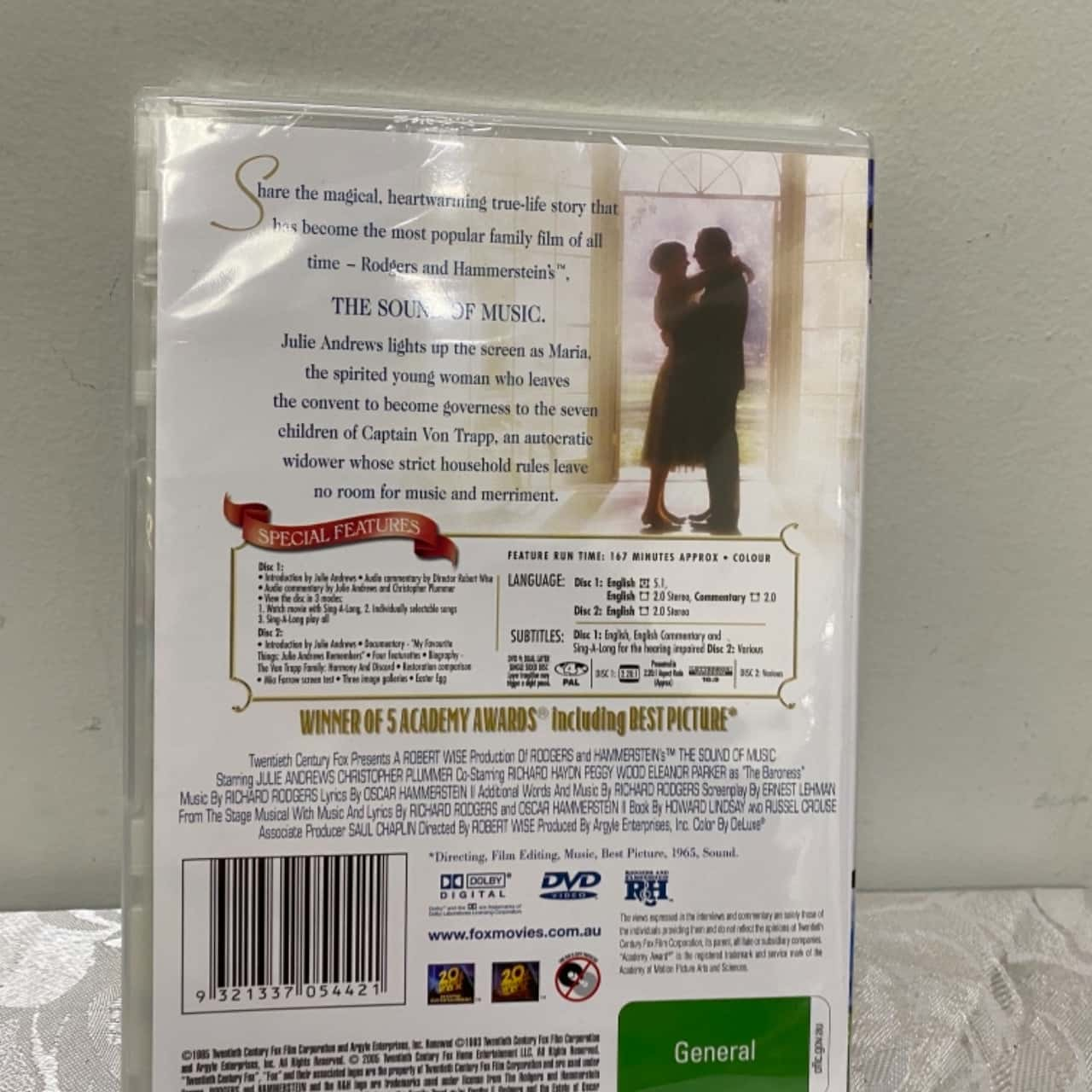 The Sound of Music DVD 2 Disc Set New