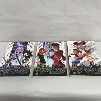 """NIGHTSCHOOL THE WEIRN BOOKS"" by Svetlana Chmakova Books 1-3"