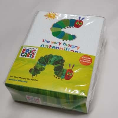 The Very Hungry Caterpillar Blanket