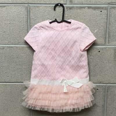 Nickolas & Bears Kids Dress Size 12m, Pink BNWT