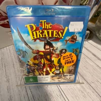 BlueRay DVD The Pirates 'Band of Misfits' Brand New