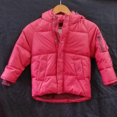 Zara Kids Unisex Red Puffer Jacket Parker Size 7