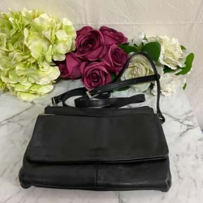 Pierre Cardin Black Handbag