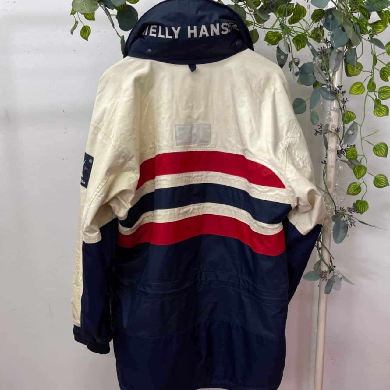 Helly Hansen Mens  Size M Ski Jacket Blue/Cream/Red
