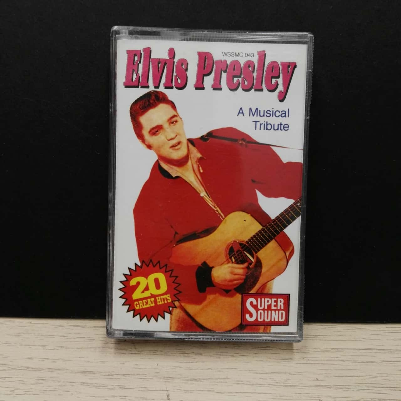 Music Cassette - Elvis Presley & Friends - A Musical Tribute - 20 Greatest Hits