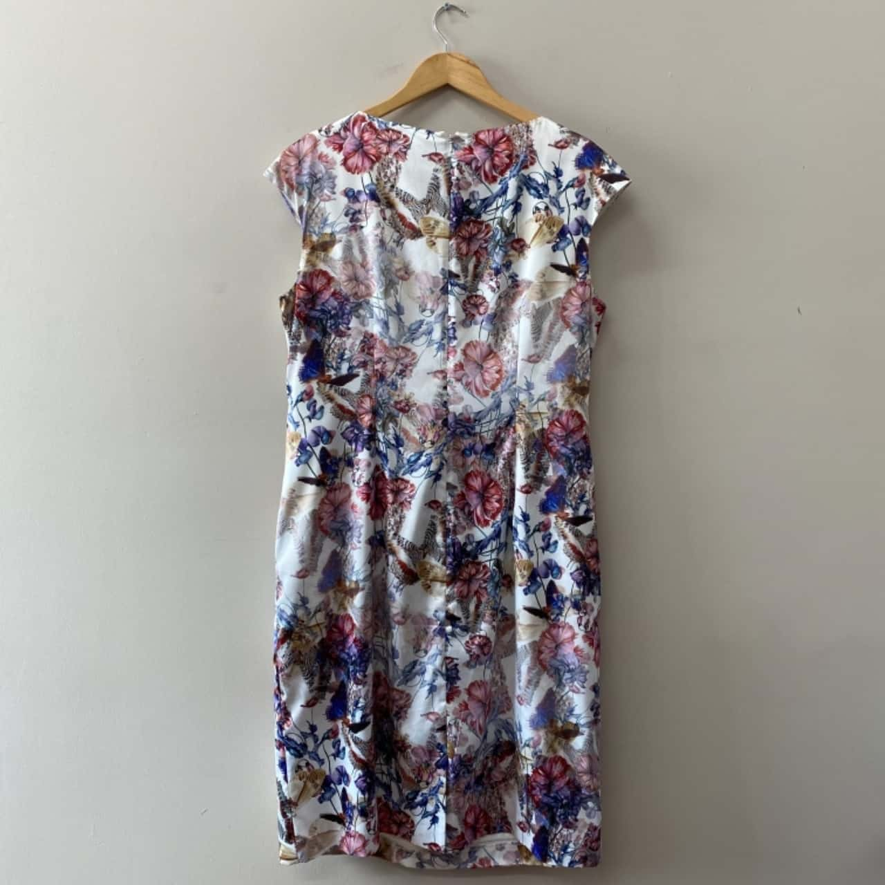 Anthea Crawford Womens  Size 18 Floral Dress Multicoloured