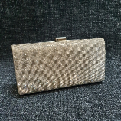 Colette by Colette Hayman Womens Silver Clutch/Handbag