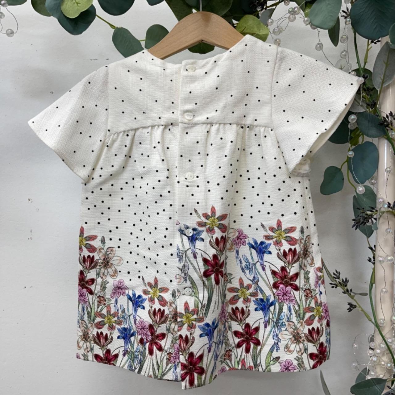 Zara Kids  Size 0 Dress Floral/White