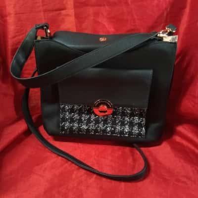 Medium Size Colette Black Handbag