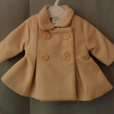 Baby Baby-Best n Less Biege Baby Winter Coat Size 0000 (Newborn) UAN