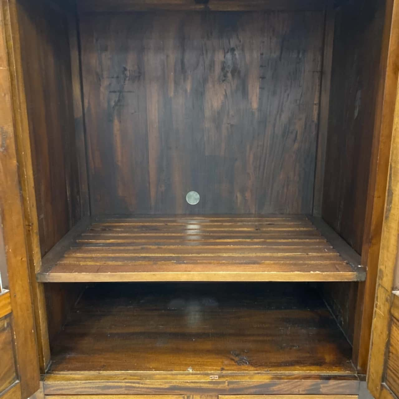 Balinese solid wooden cabinet