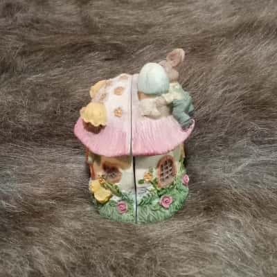 5 Peter Rabbit Figurines