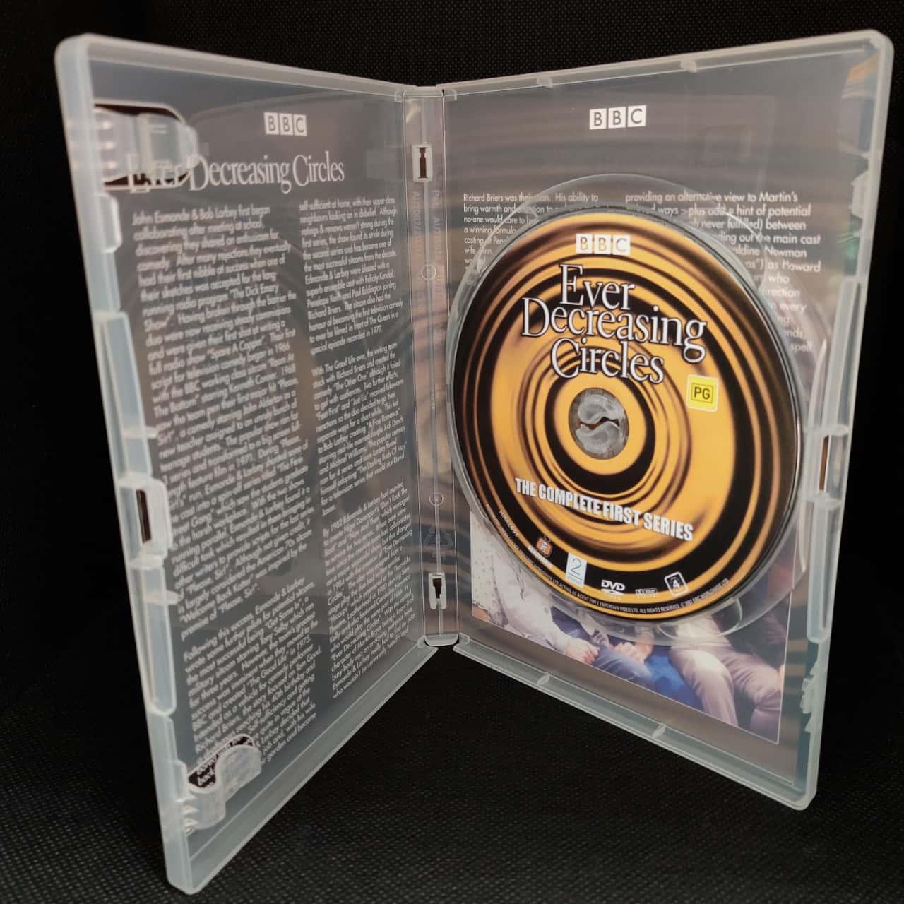 BBC Series Ever Decreasing Circles - Series 1, 2 & 3 Complete