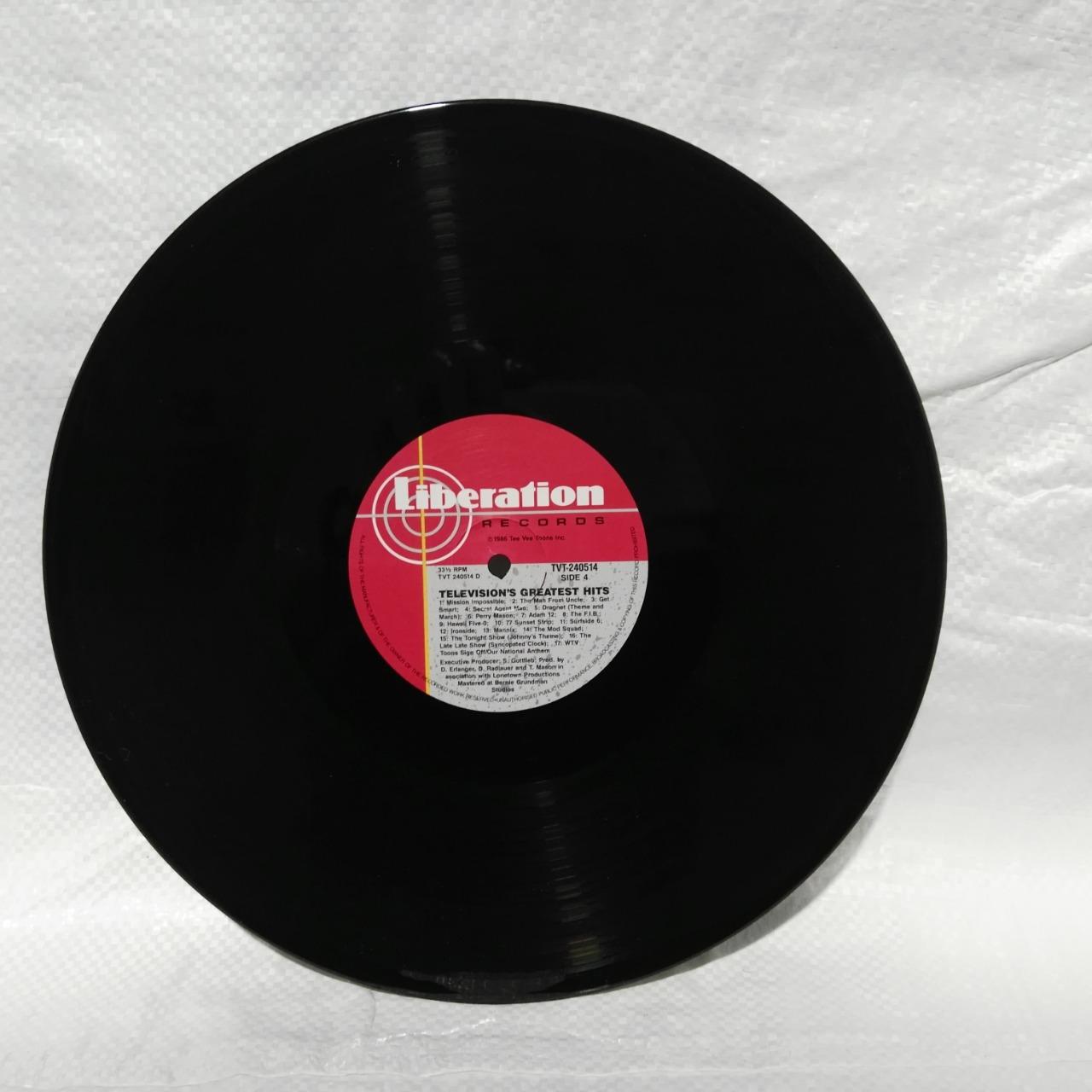 Television's Greatest Hits Vinyl Double Album