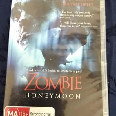Zombie BNWT Dvd