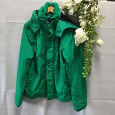 Holister California Mens Jacket Size XL Green