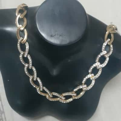 """Womens """"Gold Bling""""Necklace"""
