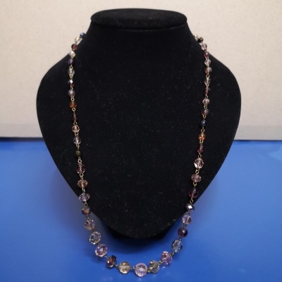 Womens Necklaces Pink /Purple