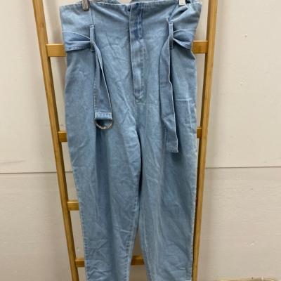Fashion Nova Womens  Size 9 Blue Jeans