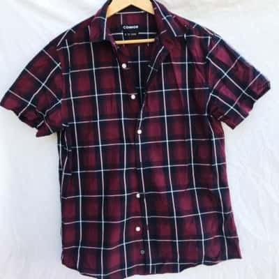 Connor Checkered Button Up Shirt