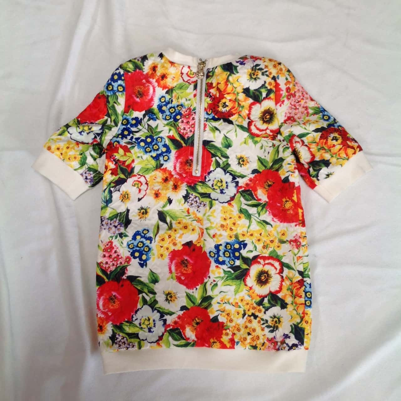 Dolce & Gabbana Kids Dress Floral/Multicoloured age 3-5