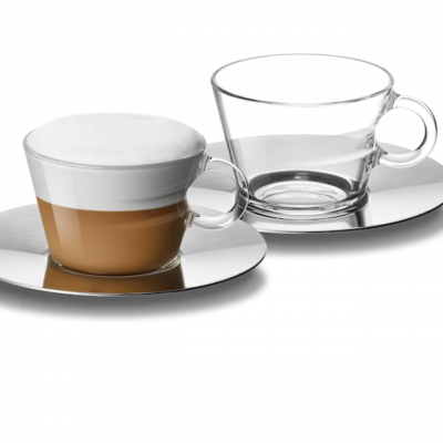 Nespresso View Cappuccino Cup Set Brand New