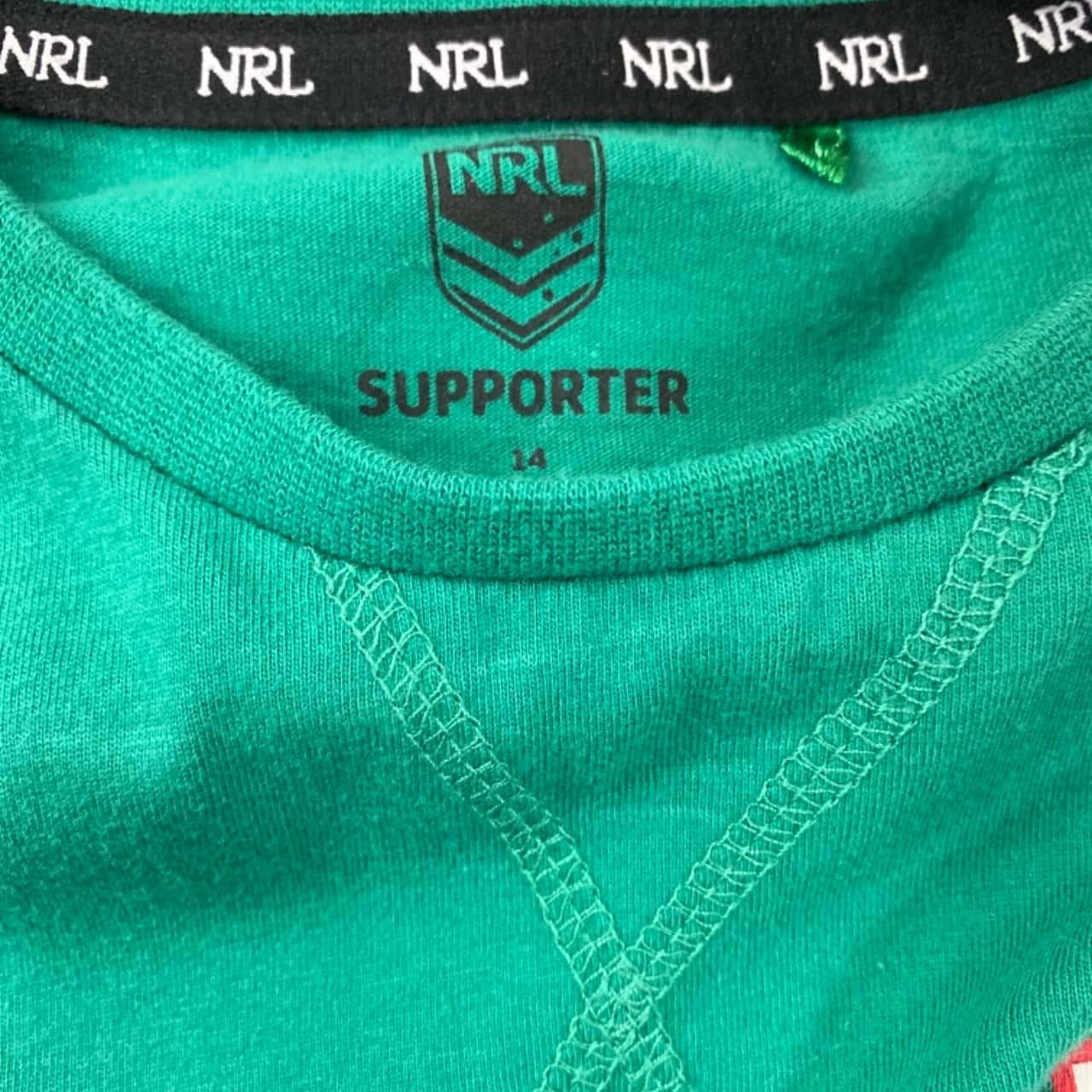 NRL South Sydney Rabbitohs Kids Top