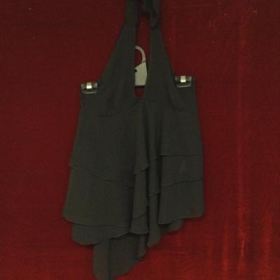 Womens  Size 10 halter top Shirts & Blouses Black