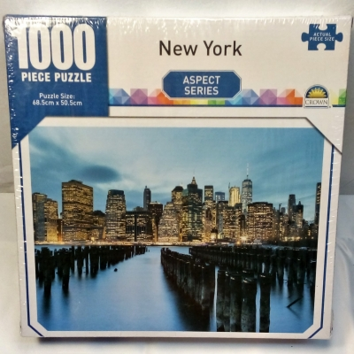CROWN New York Jigsaw Puzzle