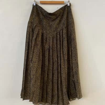 Seed Heritage Womens  Size 16 Maxi/Pleated