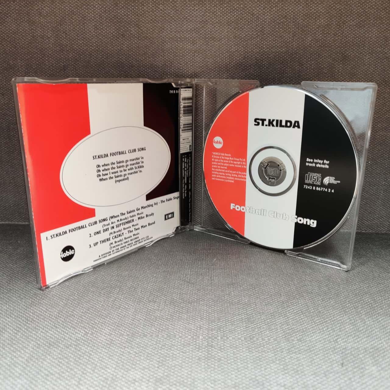 St Kilda Football Club Song CD