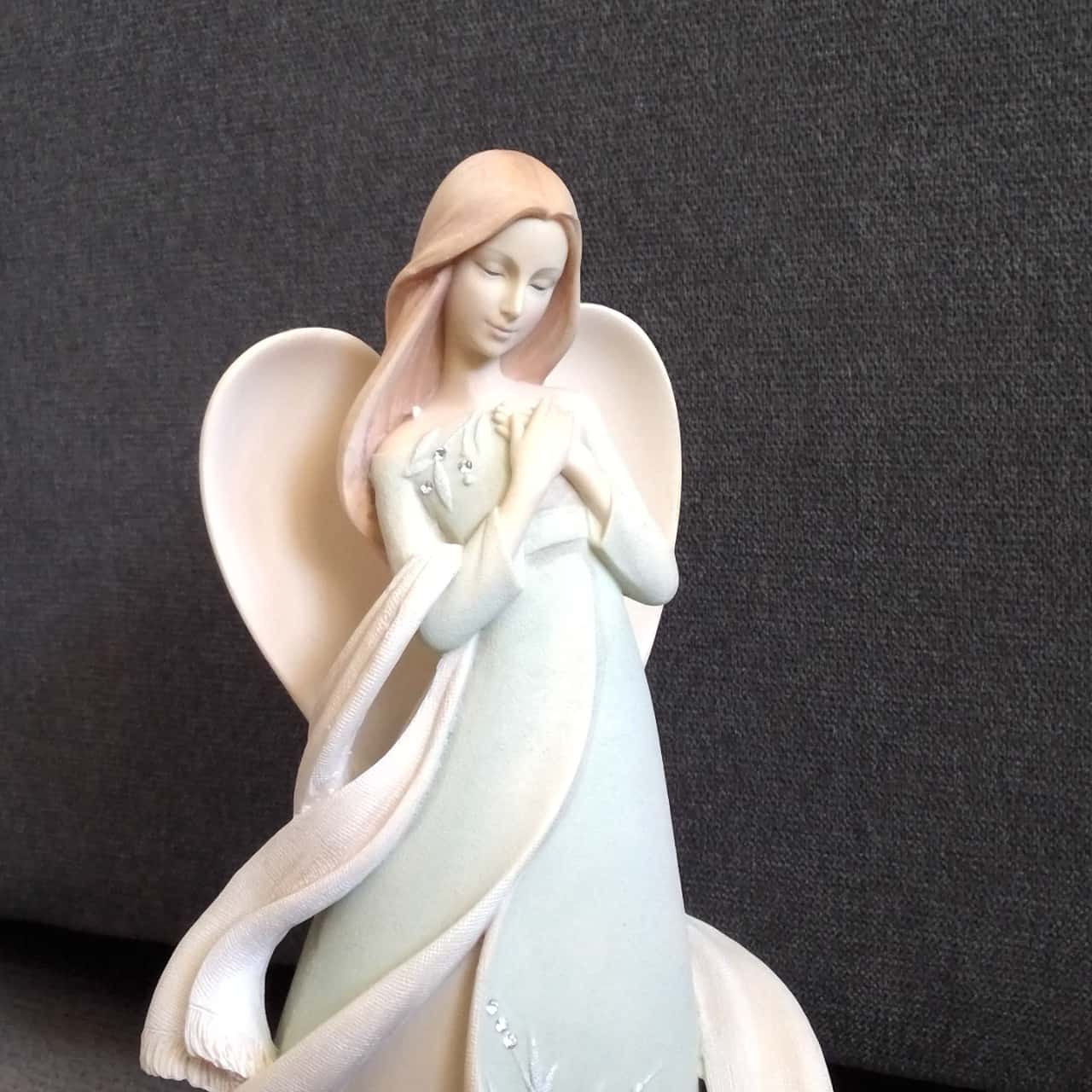 FOUNDATIONS 'PRAYER ANGEL' FIGURE Approx 25cm High