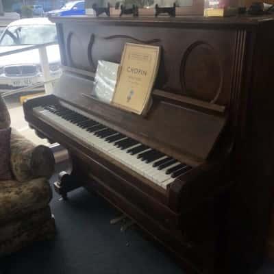 Wooden Grand Piano