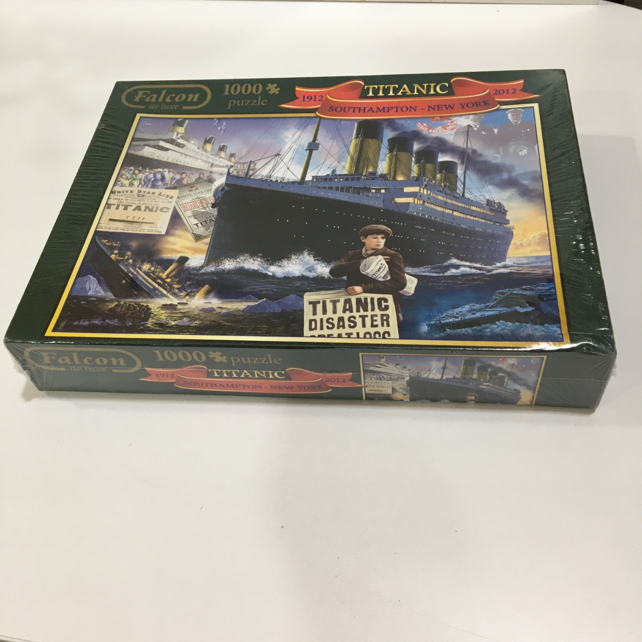 50% Off - Titanic Southampton New York Puzzle (1912 - 2012)