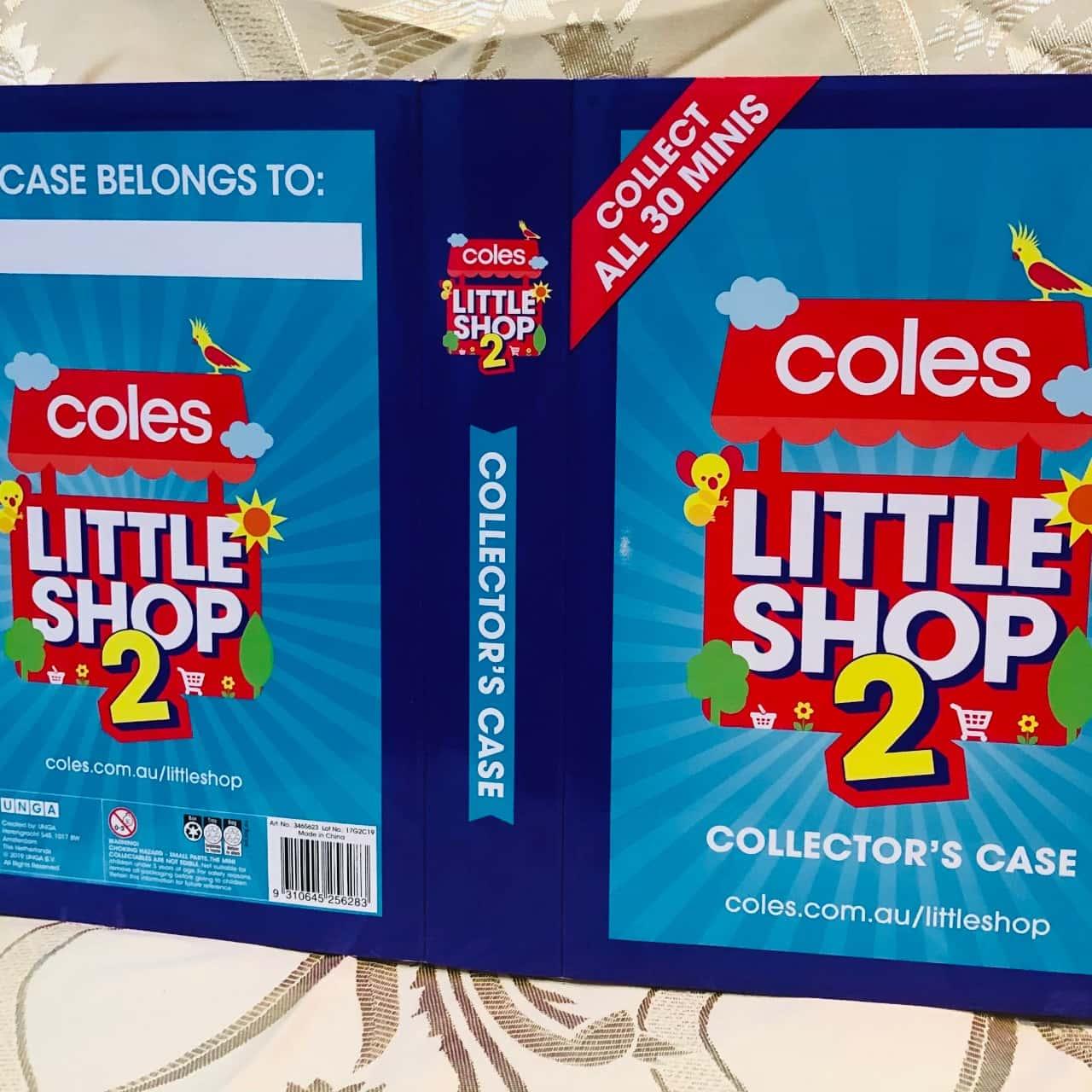 Cloes Little Shop 2 Collector's Case