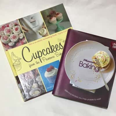2 X Baking Cookbooks