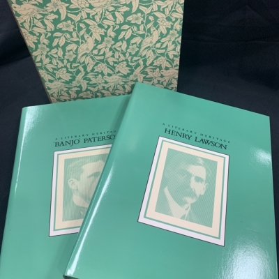 """Weldon A literary heritage """"Banko"""" Paterson & Henry Lawson"""
