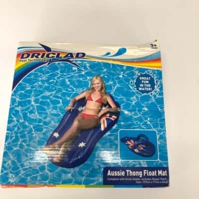 Driclad pool technology Aussie Thong Float Mat