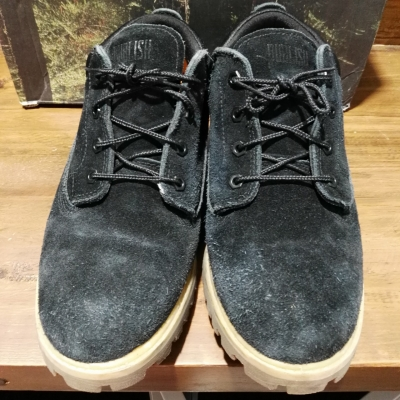 Timberland Men's Casual Lace Up Shoes Size 10 Black RRP $79.95