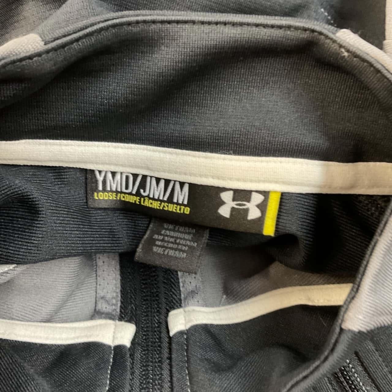 Under Armour Kids  Size M Jackets Black /Grey