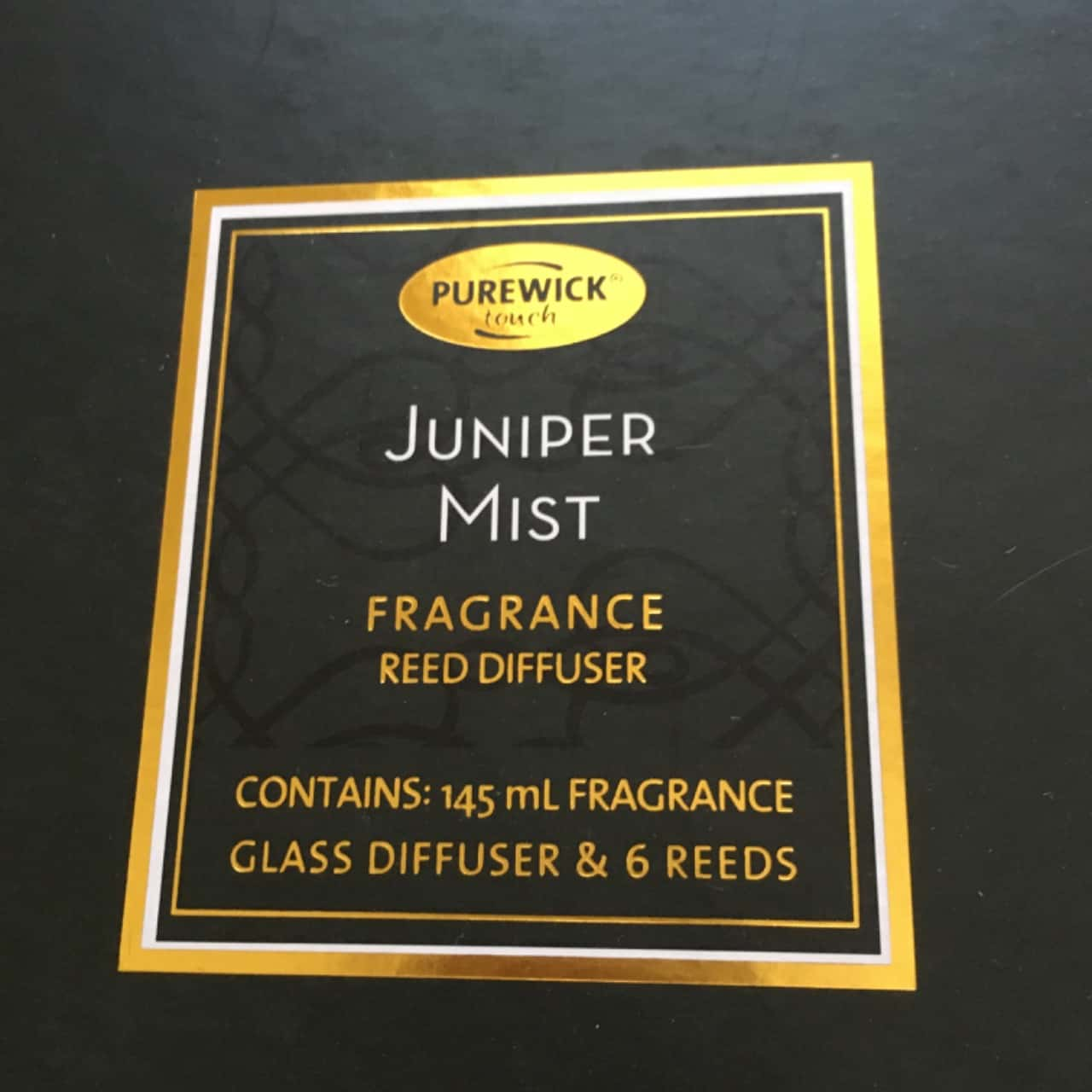 Purewick Juniper Mist Fragrance Reed Diffuser, Brand New **Happy Mother's Day**