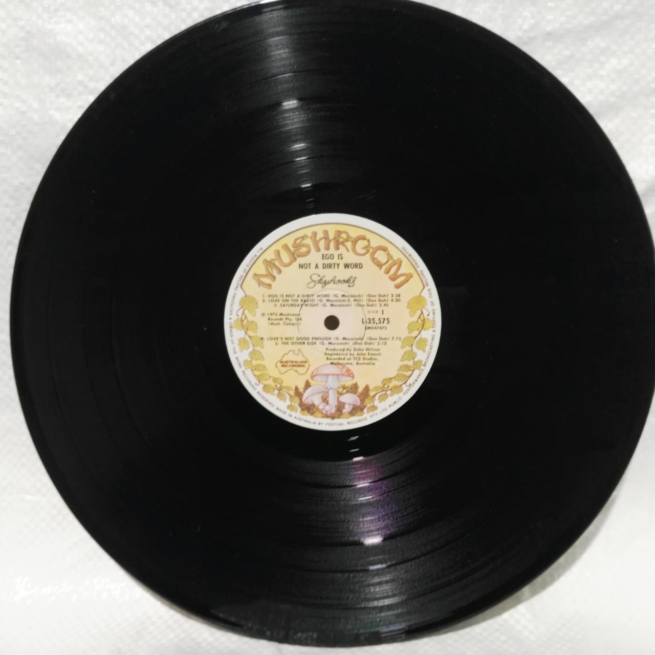 Vinyl Album Skyhooks - Ego I Not A Dirty Word