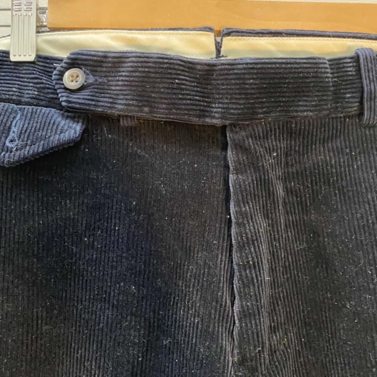 Polo Ralph Lauren Mens Corduroy Chinos Blue  Size34
