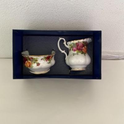 Royal Albert bone China Sugar bowl and creamer