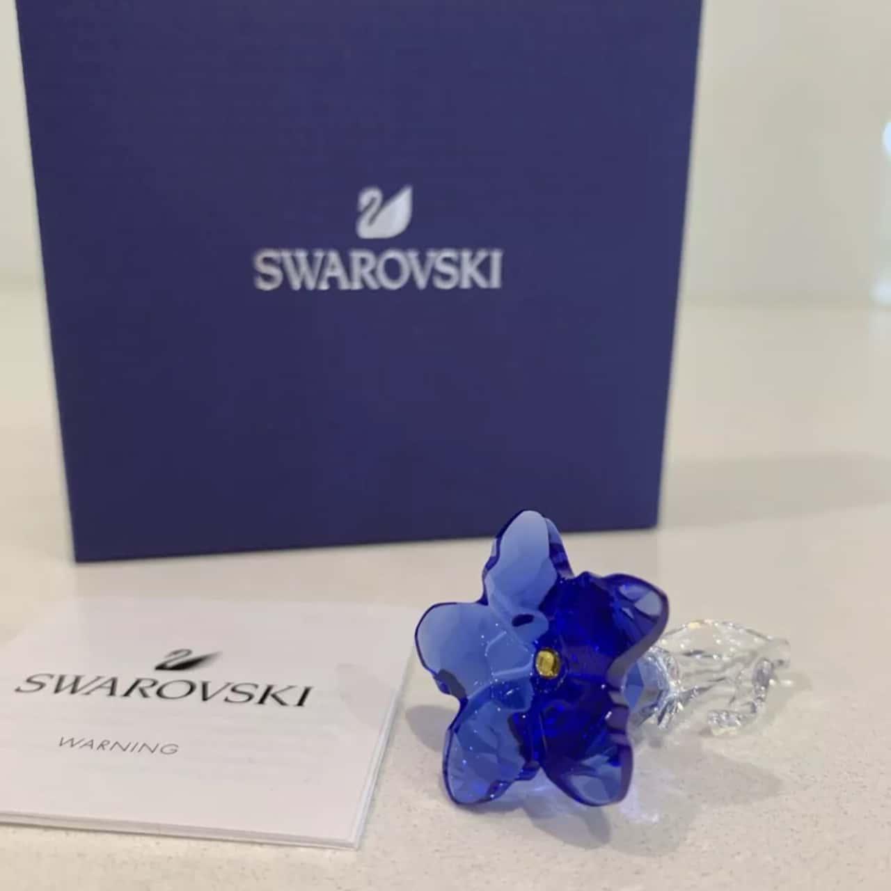 RETIRED SWAROVSKI CRYSTAL GENTIAN MEMBERSHIP 2020 #5490321