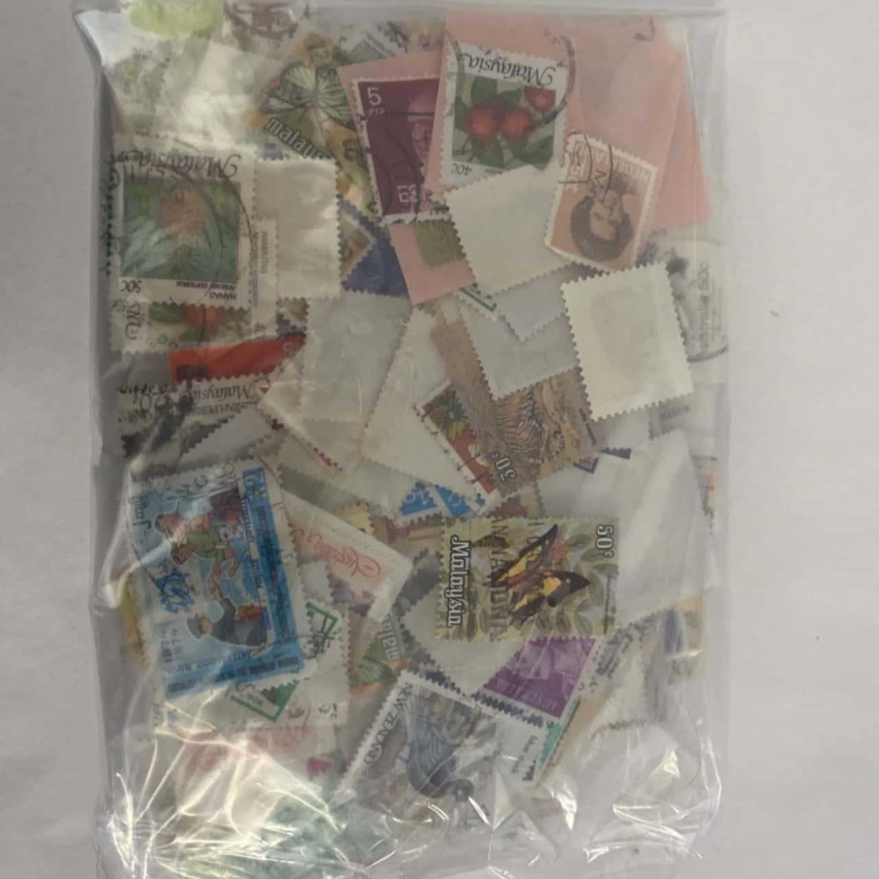 Random stamp collection
